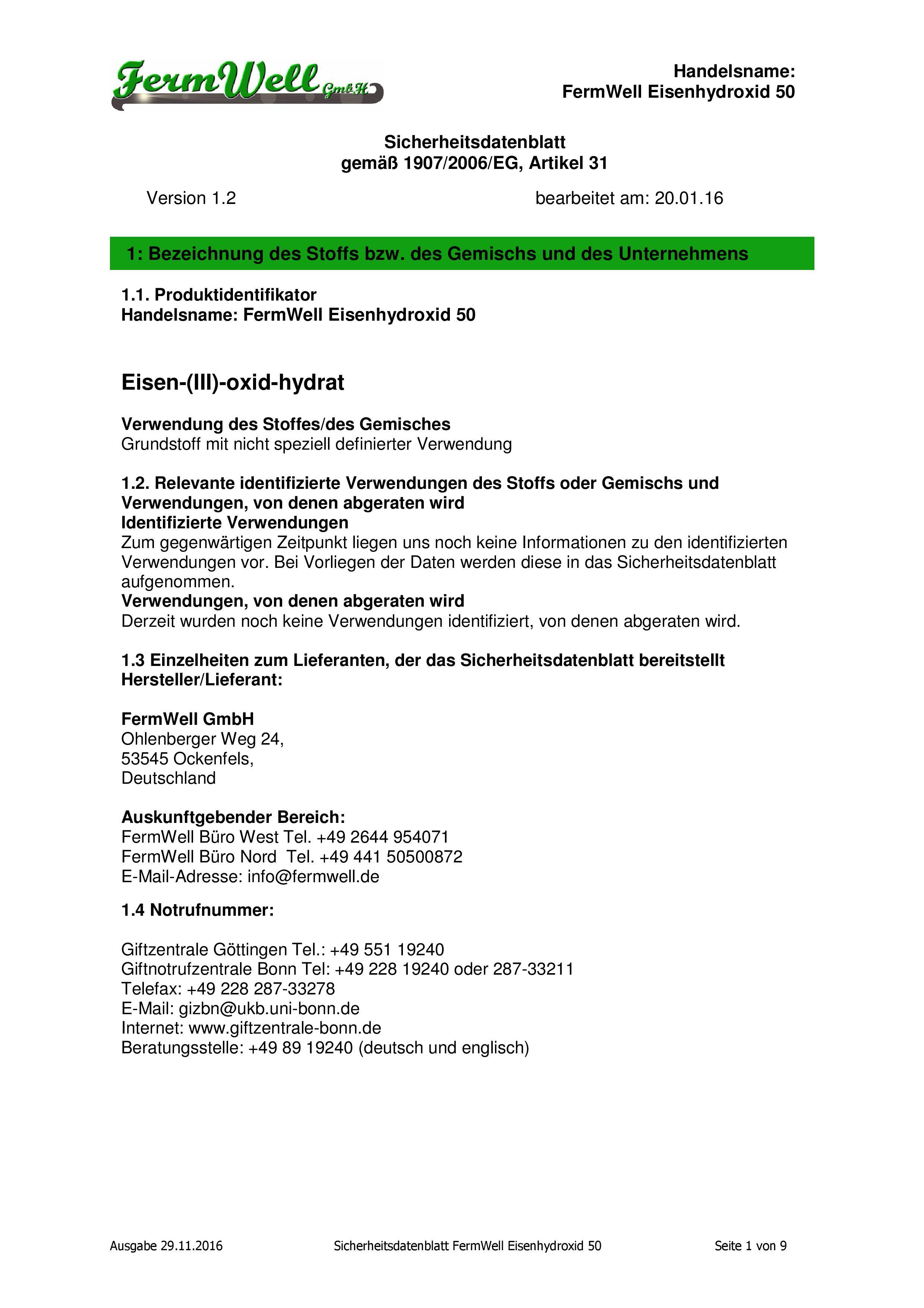 FWG_Eisenhydroxid_50_Sicherheitsdb_16112
